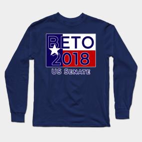 aba63ded BETO O'ROURKE FOR SENATE TEXAS Long Sleeve T-Shirt