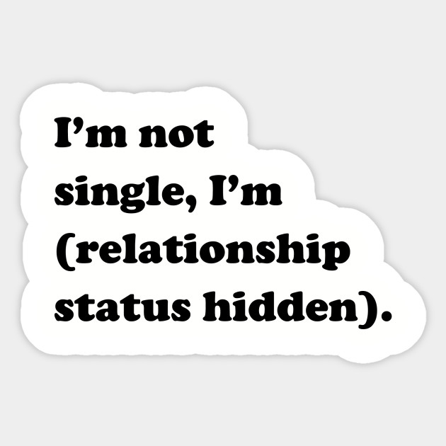 i m in a relationship