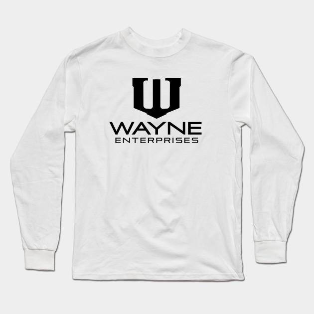 WAYNE ENTERPRISES HOODIE Batman Sweatshirt Dark Knight Bruce Wayne Comic Mens US