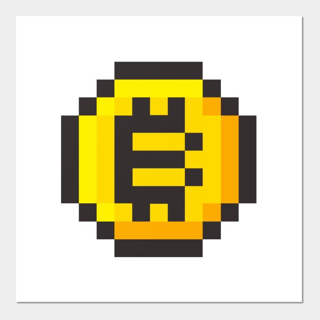 Bitcoin 8 bit - Bitcoin 8 Bit - Posters and Art Prints   TeePublic UK