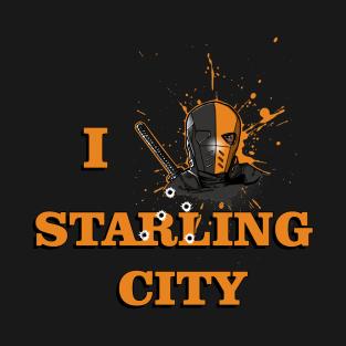 Starling City Love t-shirts