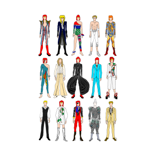 Outfits of Bowie Fashion