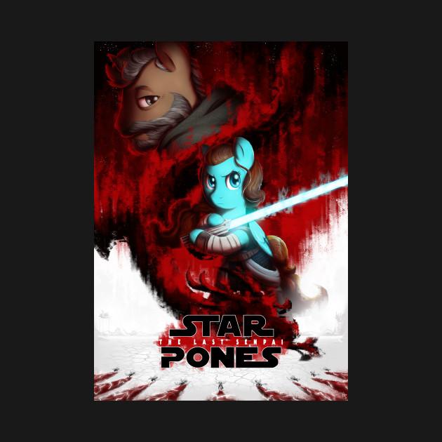 Star Pones: The Last Senpai (My Little Pony Parody Design)