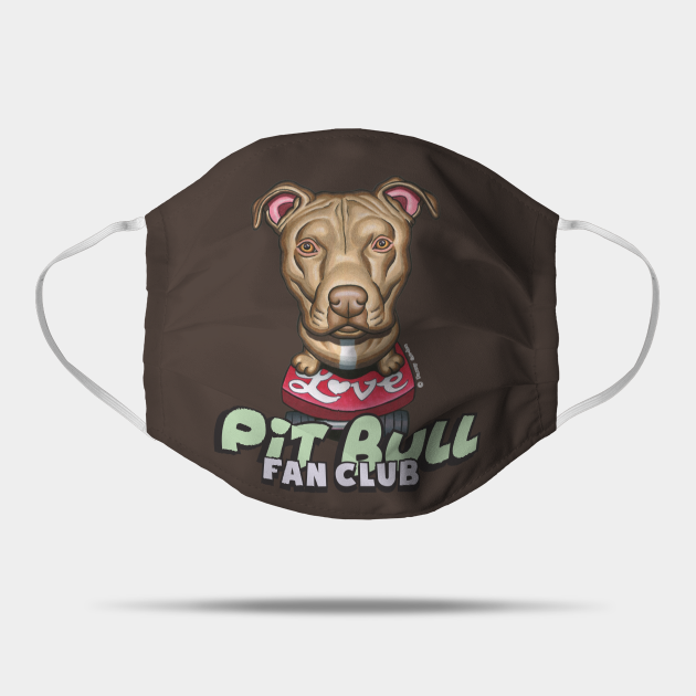 Pit Bull on Love Skateboard