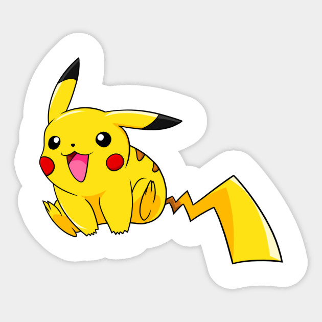 Pika! Sticker