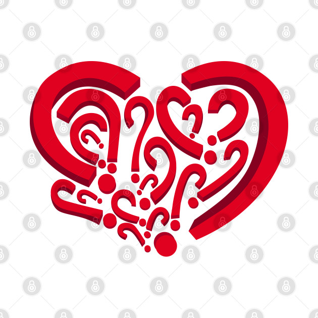 Who is in my heart?  Red color