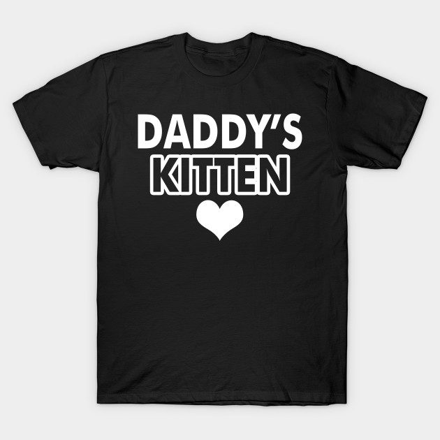 Daddys Kitten Cat Fathers Daddy Heart Cat Gift For Cat Kitten Owner