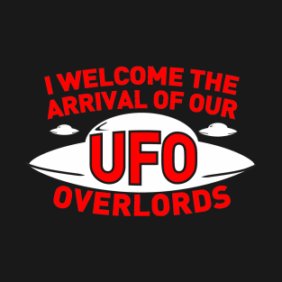 UFO Overlords t-shirts