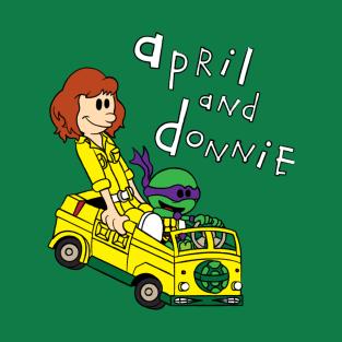 April & Donnie t-shirts