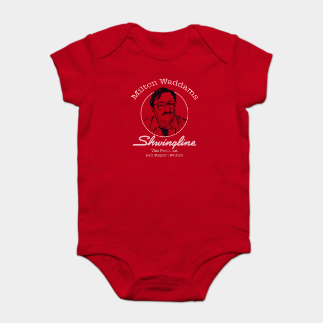 Milton Waddams Office Space Milton Waddams Baby Kurzarmbody