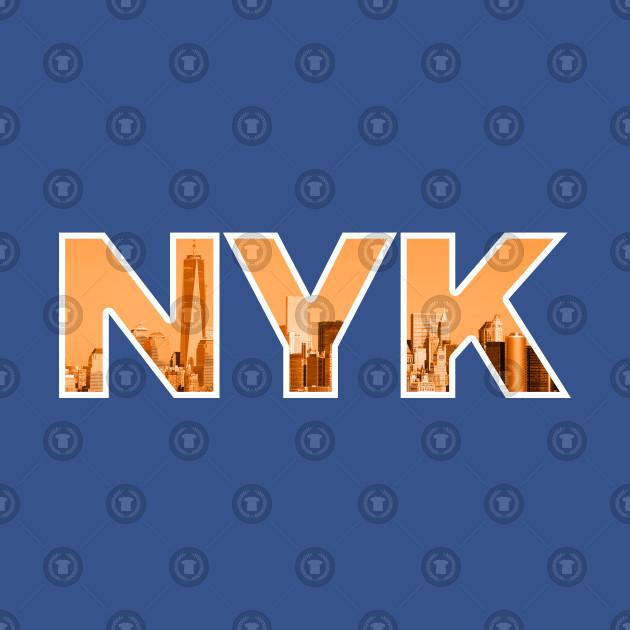 New York Knicks NYK Skyline