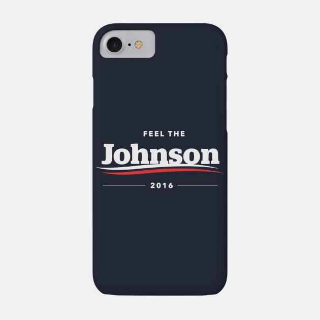 Feel The Johnson 2016 T-Shirt   Bern Sanders Parody