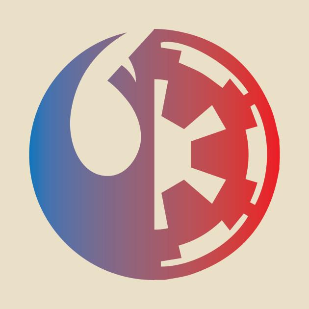 Rebel Alliance Vs Galatic Empire Star Wars T Shirt Teepublic