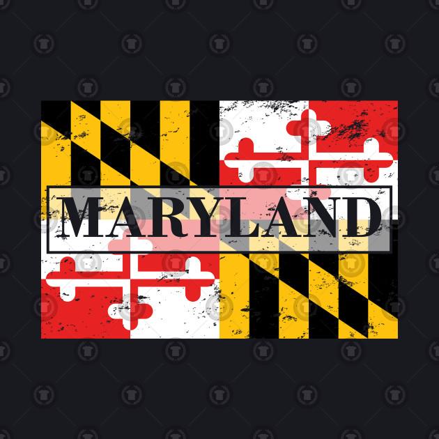 Maryland State Flag - Gift Maryland Flag Maryland