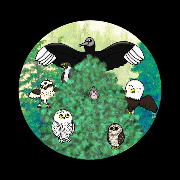 Birds of North America - Small Design