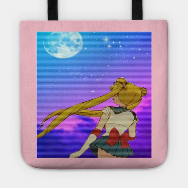 Aesthetic Vaporwave Sailormoon Aesthetic Sailormoon Pastel