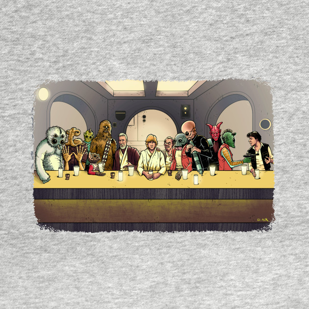 The Last Mos Eisley Hangout (Color version)
