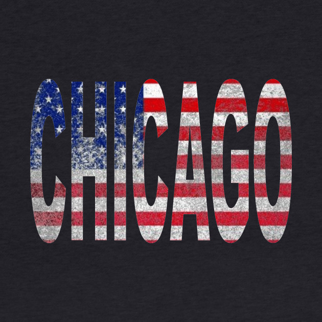 CHICAGO AMERICAN FLAG
