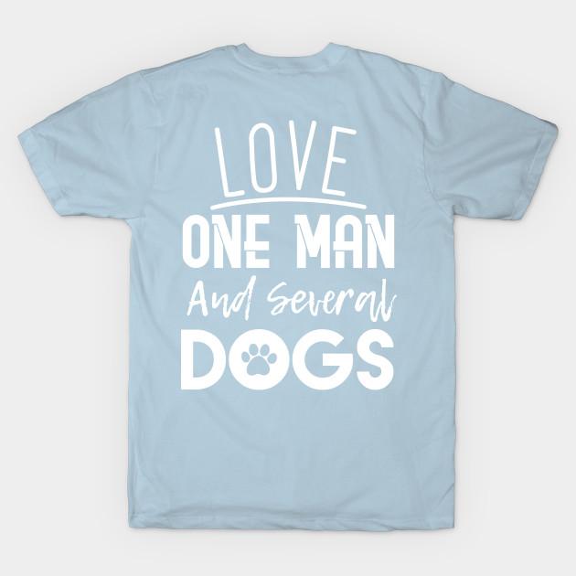 460ab0447ec7 Dog Lover Woman - Dog Lover - T-Shirt | TeePublic
