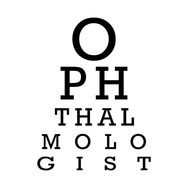 Eye Test Chart Ophthalmologist Eye Test T Shirt Teepublic