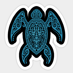 Tribal Sea Turtle Tattoo Stickers Teepublic