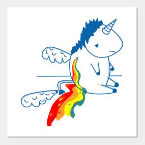 Affiches Et Tirages Dart Unicornio Teepublic Fr