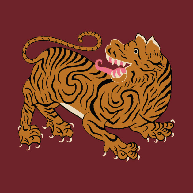 tibetan tiger tiger t shirt teepublic. Black Bedroom Furniture Sets. Home Design Ideas