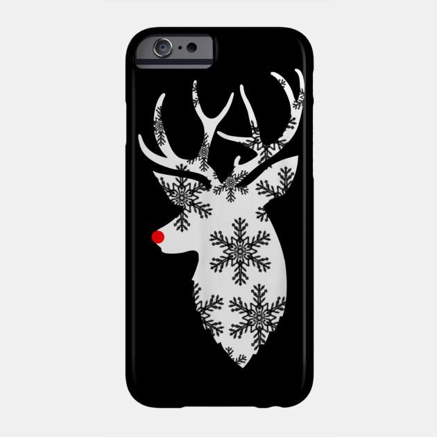 Christmas Deer , Stag Deer , Cute Christmas Phone Case