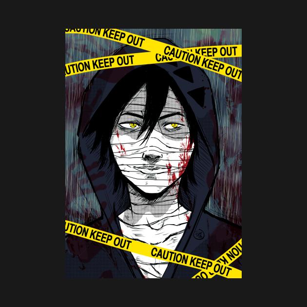 Zack foster/ satsuriku no tenshi/ anime style