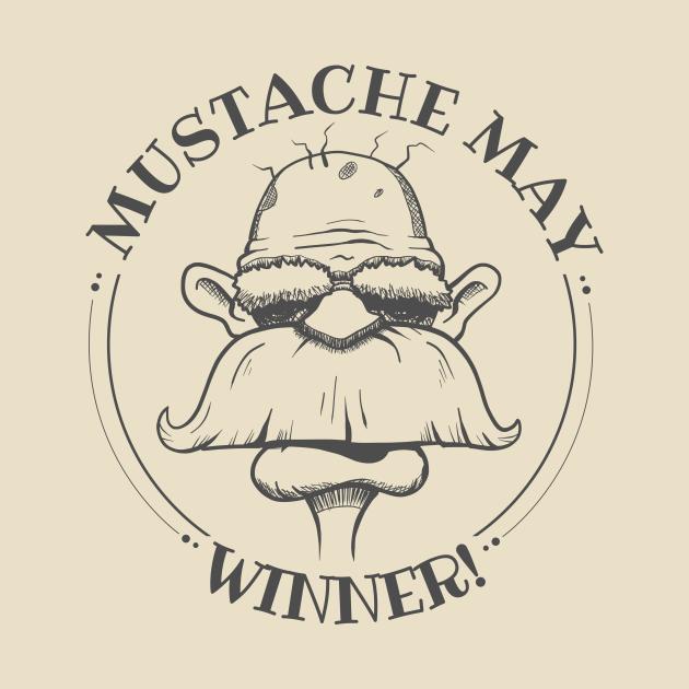Mustache May Winner