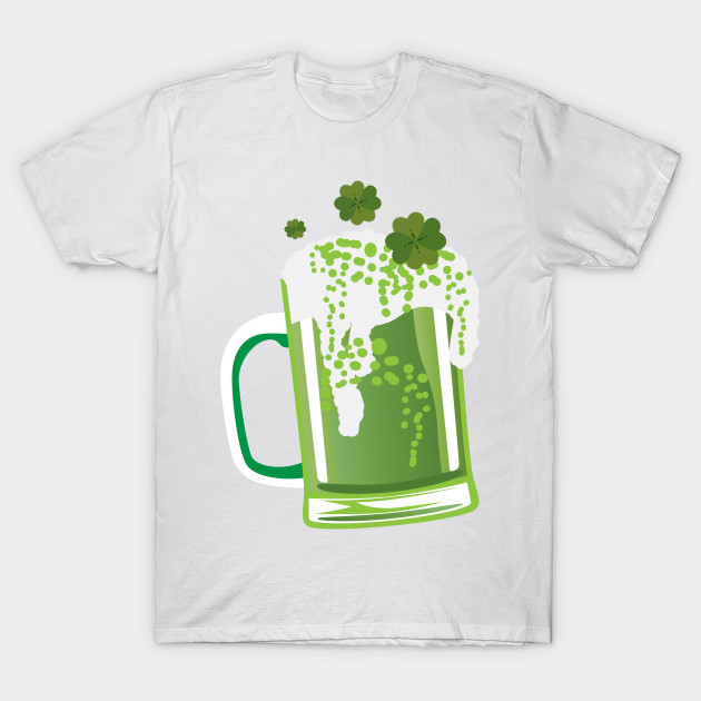 9fa2de6a9 Green Beer St Patrick's Day Funny - St Patricks Day - T-Shirt ...