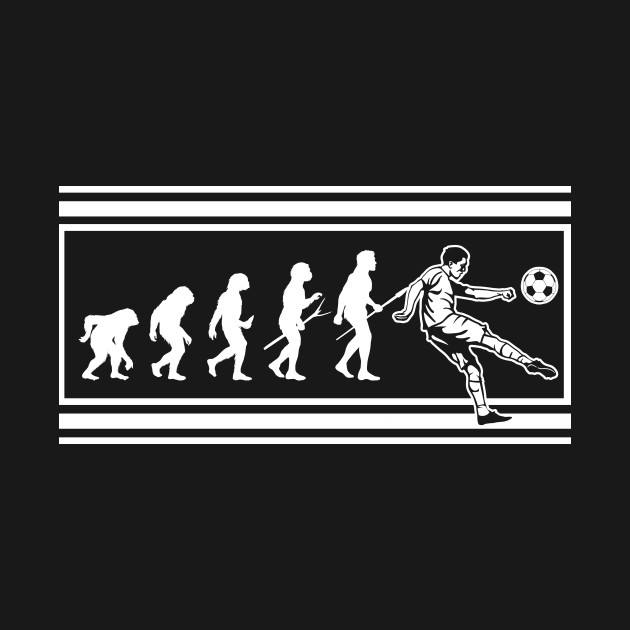 Evolution of Soccer Player Funny Sports Gift