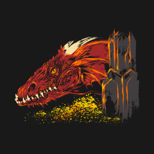 Into the abode of the Dragon t-shirts