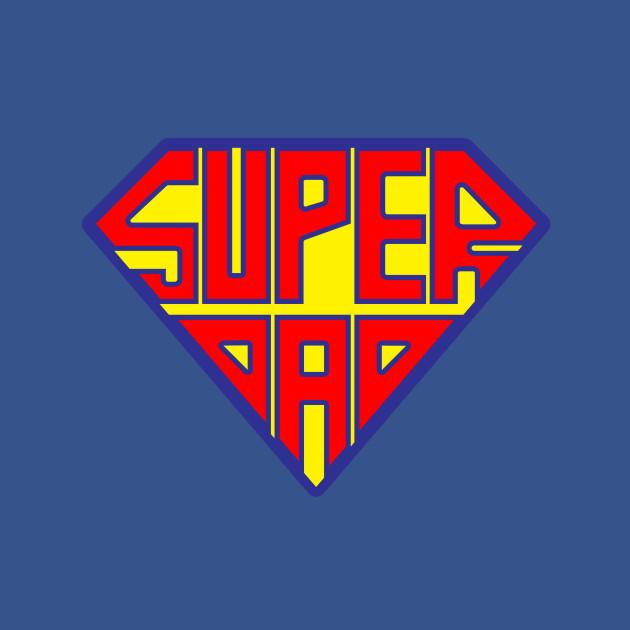 superdad fathers day tshirt teepublic