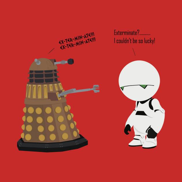 Dalek Marvin mashup