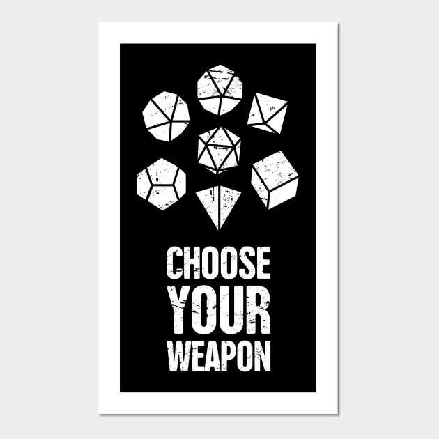 funny d20 roleplaying game board gaming graphic d20 posters