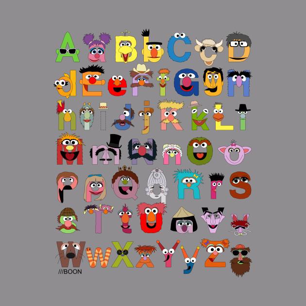Sesame Street Alphabet - Sesame Street - Hoodie