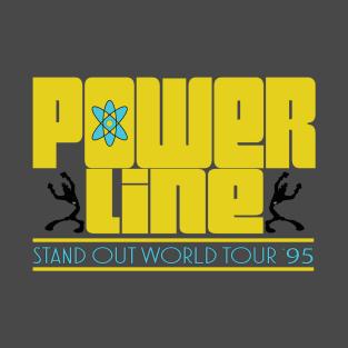 Powerline World Tour t-shirts