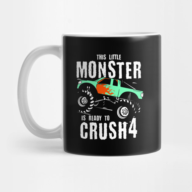 Monster Trucks 4th Birthday Gift | Big Trucks