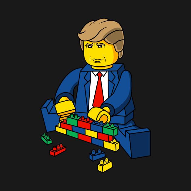 Build A Wall Brick Trump
