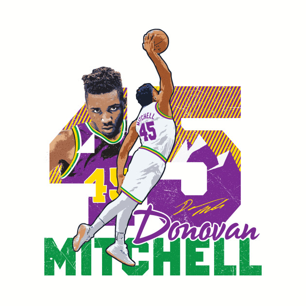 Donovan Mitchell Tee T-shirt