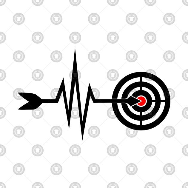a52dc2734 My Heart Beats For Archery - Arrow Bow - Funny Archery Gift - Phone ...
