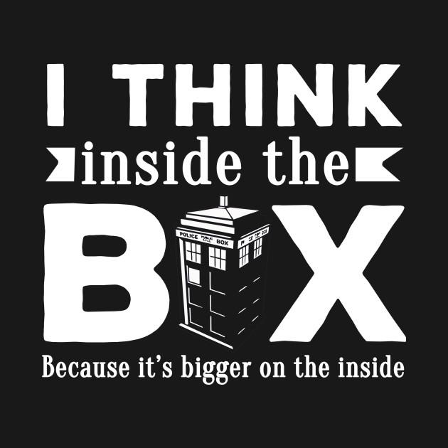 I think inside the box doctor who tardis