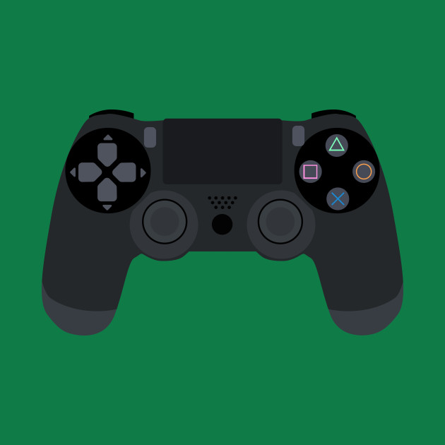 Video Game Inspired Console Playstation 4 Dualshock Gamepad