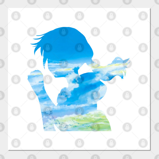 Weathering With You Hina Weathering With You Posters And Art Prints Teepublic Au