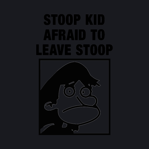 Stoop Kid Afraid To Leave Stoop - Hey Arnold, Nickelodeon, The Splat