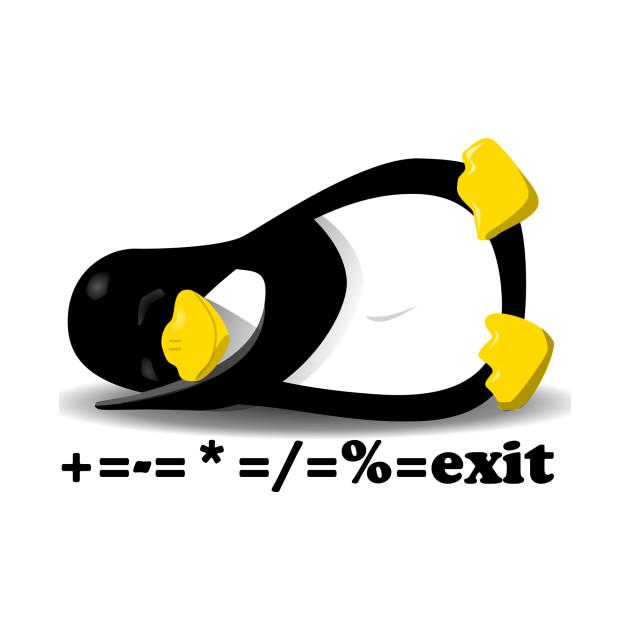 linux tux the penguin linux tux the penguin t shirt teepublic