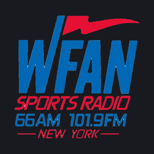 WFAN-NY - Wfan - Baseball T-Shirt   TeePublic