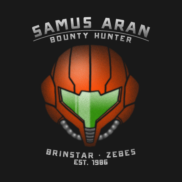 Samus Aran – Bounty Hunter T-Shirt