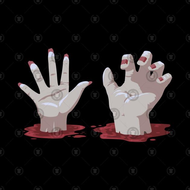 Halloween Zombies Undead Gift